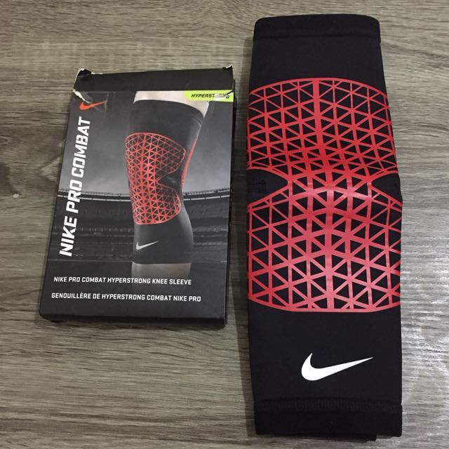promo code 7c517 a6816 NIKE Pro Combat Hyperstrong Knee Sleeve, Sports, Athletic  Sports Clothing  on Carousell