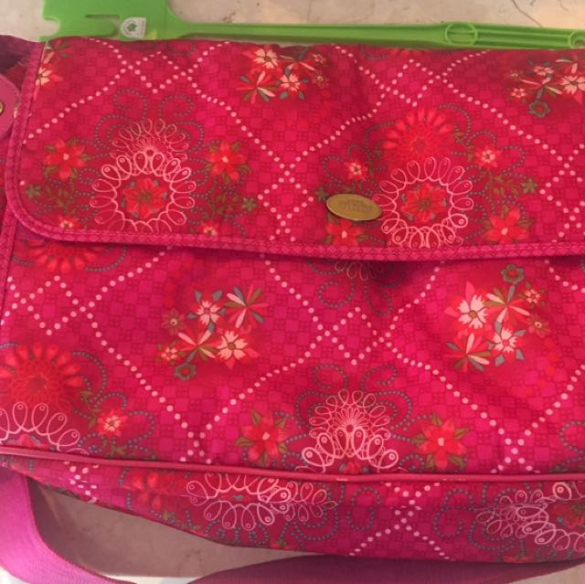 OILILY BABY DIAPER BAG PINK