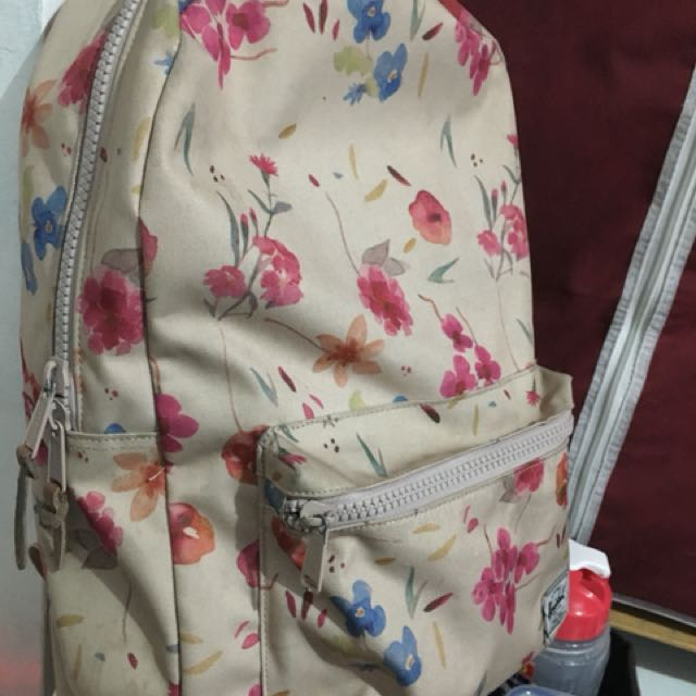 Original Herschel Floral Bag Pack