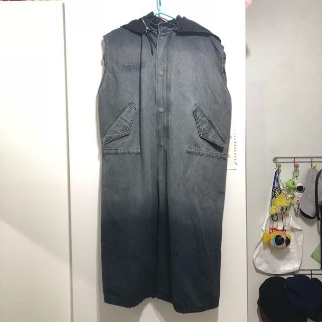 OVK 2016 A/W M-51 parka軍裝牛仔長版大衣