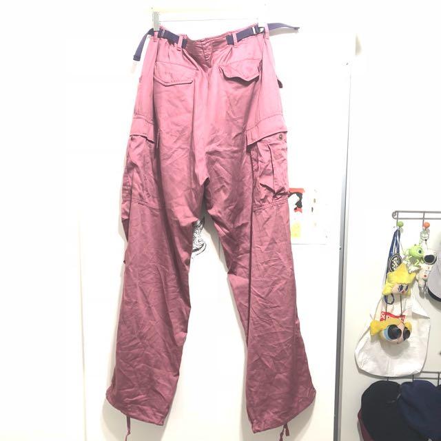 OVK 2017 s/s暗桃紅色M-65軍褲