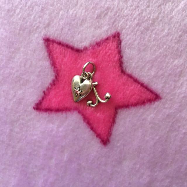 Pandora anchor and heart charm