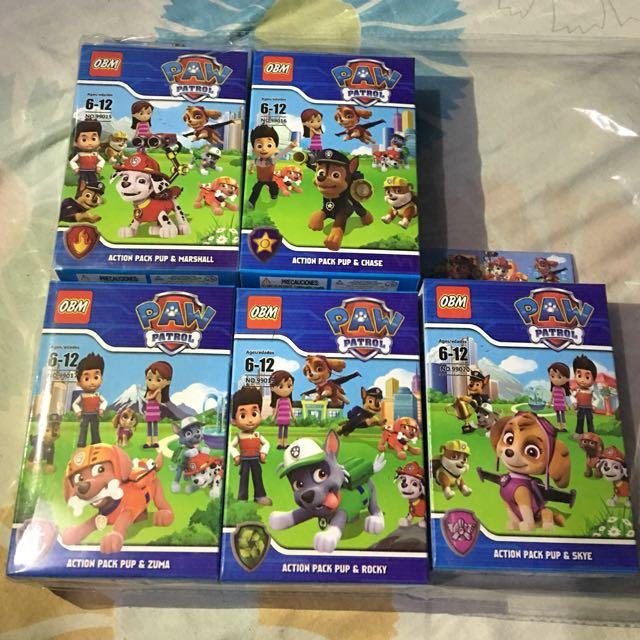 Paw patrol imitation lego f3d8b60bfd