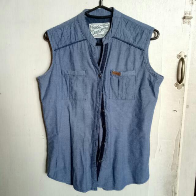 Petrol Denim Top