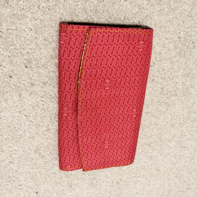 Pink wallet from Thailand