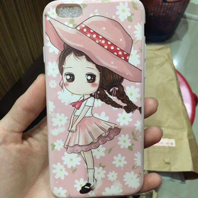 Pinky Girl Case Ip6s