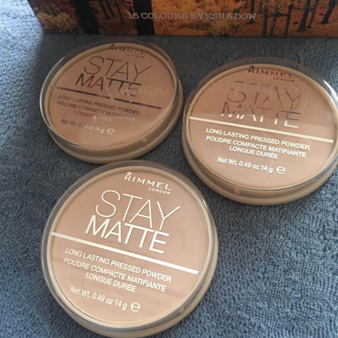 Rimmel Stay Matte Pressed Powder Health Beauty Makeup On Carousell London