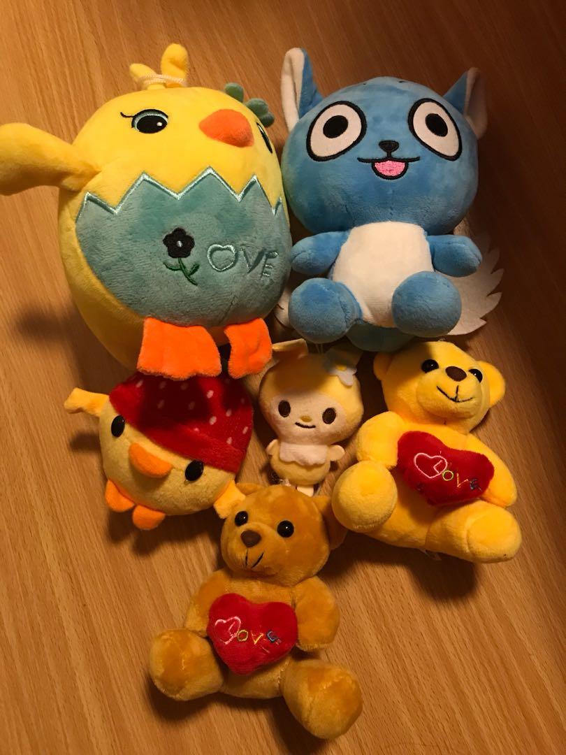 Stuffed toys take all