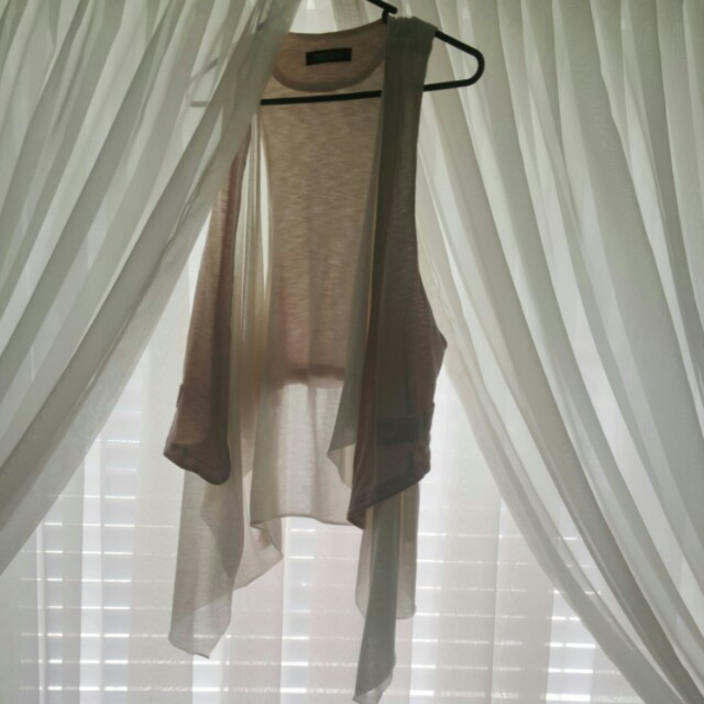 Taka nude vest one size fits