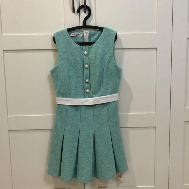 Tiffany藍氣質洋裝