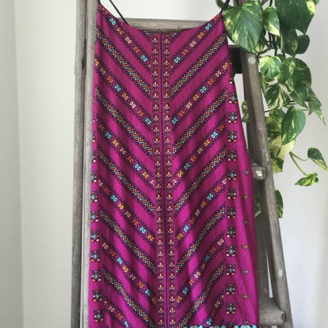 Tigerlily Aztec dress
