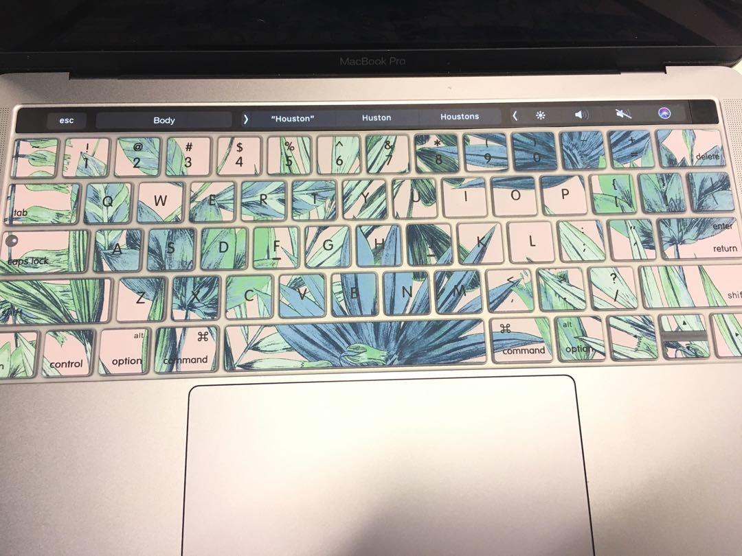 Tropical Sportsgirl Keyboard Slip/Cover