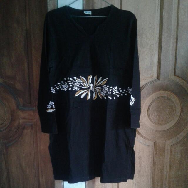 Tunik Hitam (Sik Clothing)