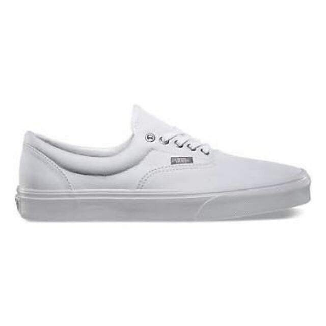 Vans Era  all White Leather Original Material And Authentic Quality Meet Up  w in Cebu City Area Legit Seller Message Me For Inquiries 3f8c27b14