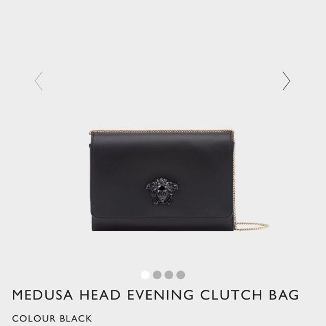 Versace Medusa Head Evening Clutch Bag f14998ebe4