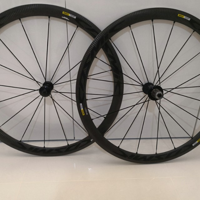 c721ac74e9b Want To Sell Mavic Cosmic Carbone 40 Elite Wheelset, Bicycles & PMDs,  Bicycles on Carousell