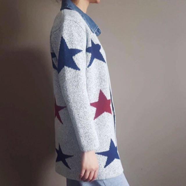 Woolen Star Coat