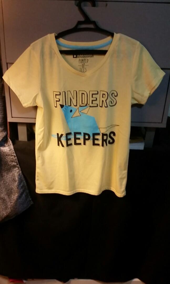 Yellow penshoppe statement shirt top