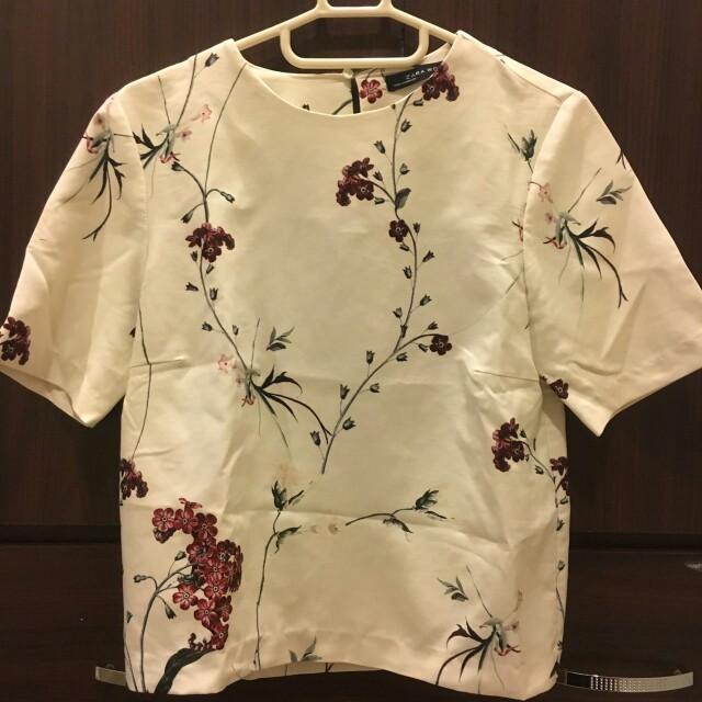 Zara超美中國風挺版上衣
