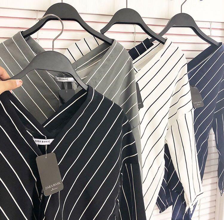 Zara basic strip