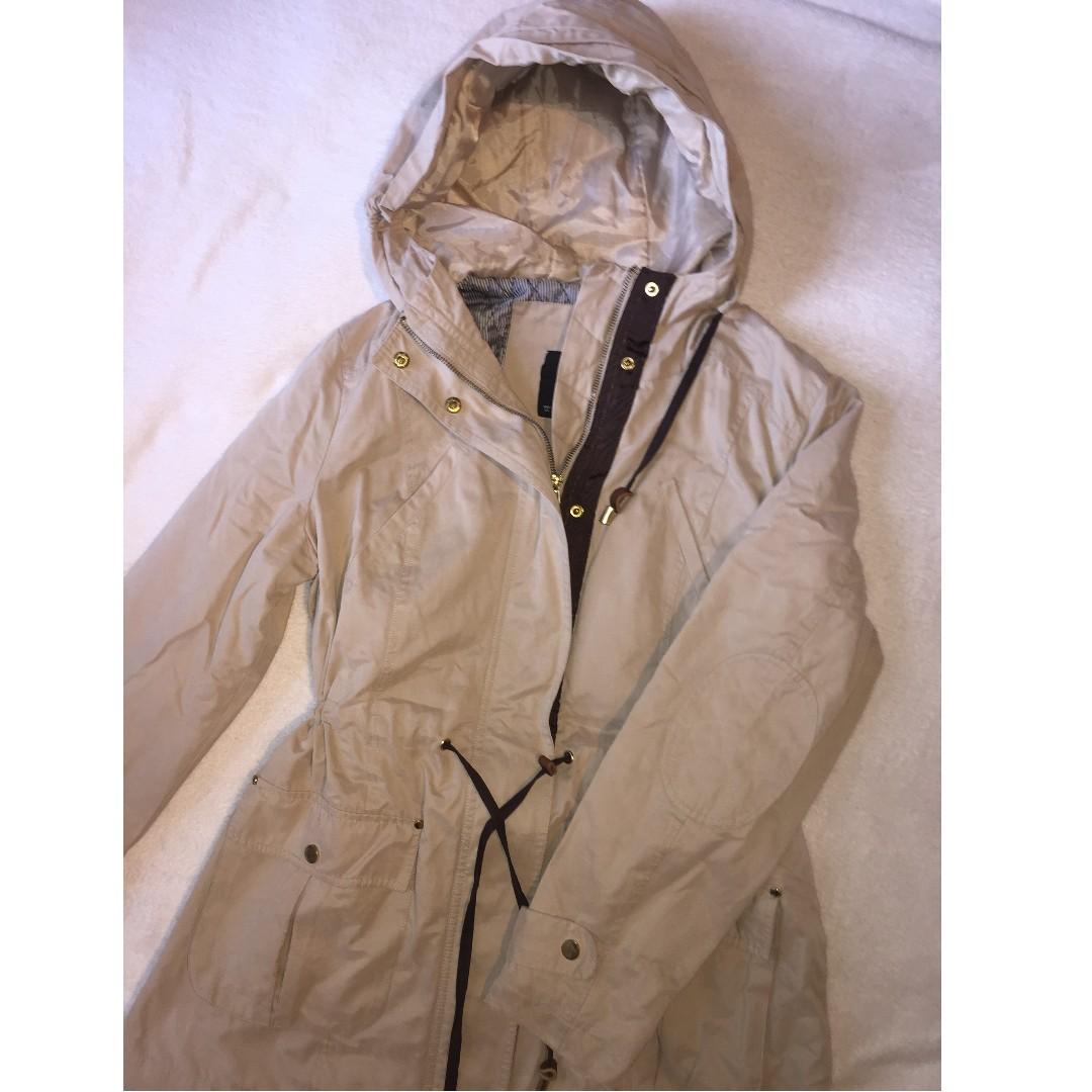 ZARA fall/spring jacket taupe