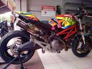 Ducati Monster 796 2013 Design AGV Sole, Condition Tiptop 10/10 Macam Baru, Low Mileage!! Cash Only: RM 33k nett Area KL..Read Description Below For Bike Details