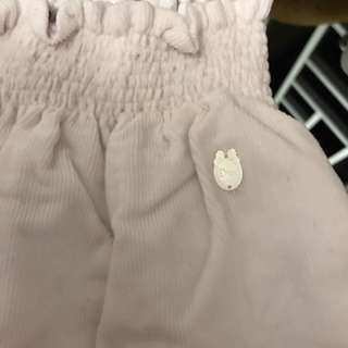 正品Baby Dior 七分褲