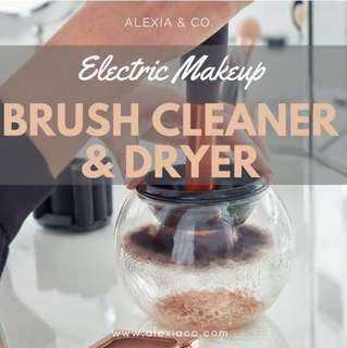 Makeup Brush Cleaner and Dryer • Electric Make up brush cleaner