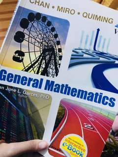 General mathematics, grade11