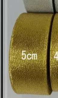 Gold ribbon ( 5cm )
