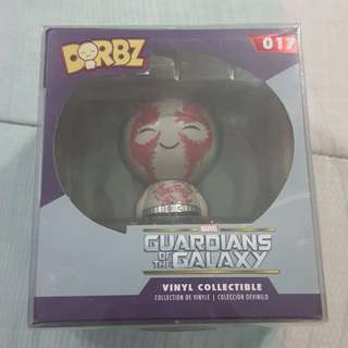 Legit Brand New With Box Funko Dorbz Marvel Guardians Of The Galaxy Drax Toy Figure