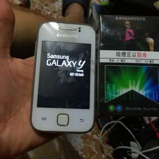 Samsung Galaxy y    s5360 (read & see my carousel information other phone)