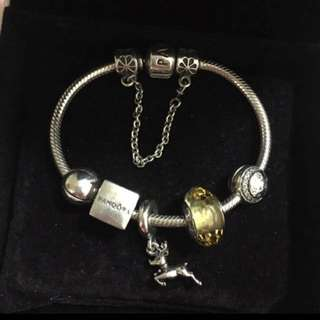 Pandora bracelet 925 charms