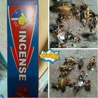 abs incense insect repellant
