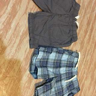 Pre loved shorts for 6 to 1 1/2 yrs old.Worn only few times.Bunch of shorts!buy two for the price of 1:
