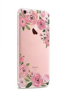 Apple iphone 6s、6s plus、 5s/SE 3D立體卡通浮雕 超薄透明邊 彩繪工藝 硅膠 手機軟殼