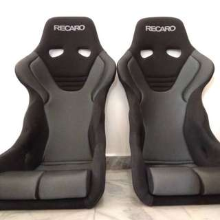 Original RECARO RS-G SK2 Silver full bucket seat