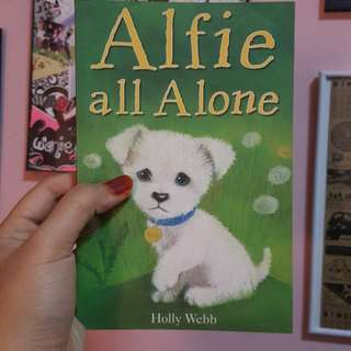 Alfie all alone.