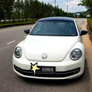 2013 Volkswagen Beetle 1.2 TSI (A) Sport - Warranty 2018