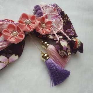 日式手工髮飾和服浴衣專用配件髮飾