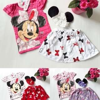 Set minnie bandana