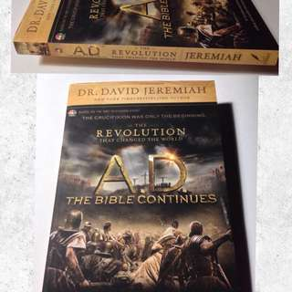 DR. DAVID JEREMIAH A.D. THE BIBLE CONTINUES
