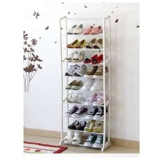 Shoes rack - Rak Sepatu 10 tingkat serbaguna
