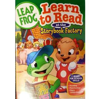 Leap Frog Learn to Read at the Storybook Factory
