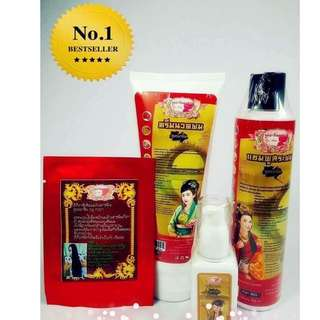 Chinese Herbal Hair Care Set by Noon, Faster Hair Grower Prevent Hair Loss (Free Shipping)