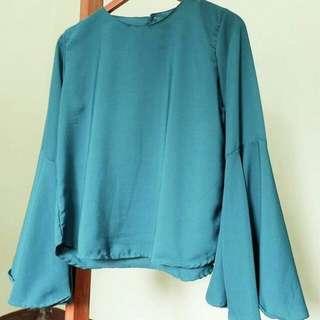 Rina blouse bahan twistcone