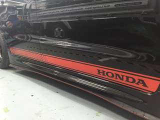Honda Side stripe design available