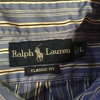 👔🔥💯% authentic polo ralph lauren button front