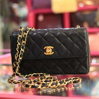 Chanel Vintage Lambskin Mini Flap
