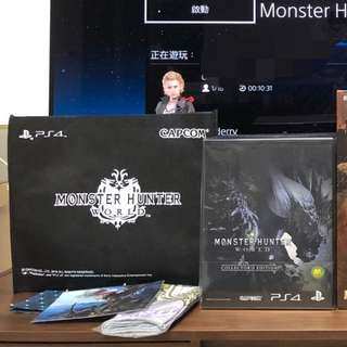 PS4 R3 Monster Hunter World limited edition